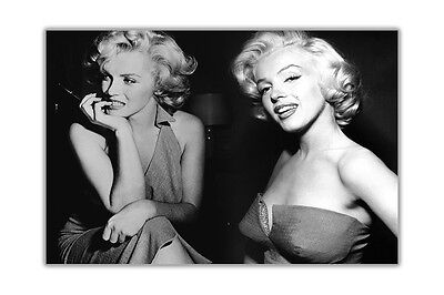 £14.99 • Buy Marilyn Monroe Collage Montage Canvas Prints Wall Art Decoration Pictures Photos