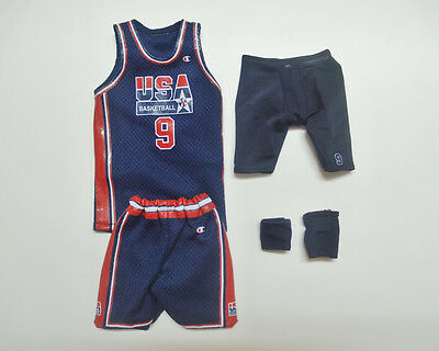 $27.99 • Buy Custom 1/6 Scale Michael Jordan Blue Dream Team Jersey Suit For Enterbay Body