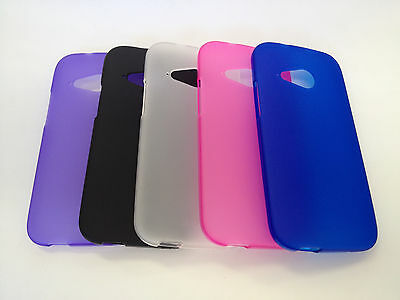 AU3.99 • Buy TPU Gel Soft Jelly Case Phone Cover For HTC One Mini 2 (M8 Mini)