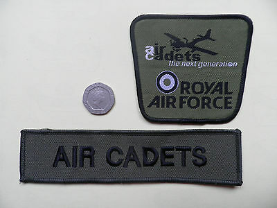 ATC, Air Cadets Badge + Title.  New. • 7.99£