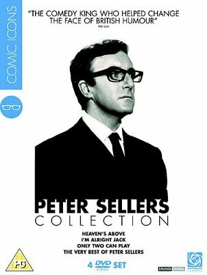 Peter Sellers Collection - Comic Icons (DVD) Peter Sellers, Ian Carmichael • 18.99£