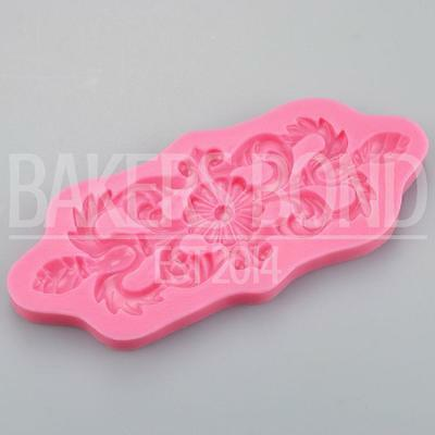 Baroque Vintage Swirly Delights Silicone Mould Cake Fondant Sugarcraft Topper • 4.60£