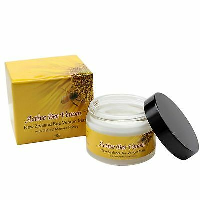 $69.99 • Buy New Zealand Active Bee Venom Moisturizer Hydrating Lifting Firming Cream 50g