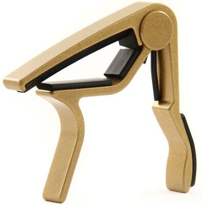 $ CDN22.82 • Buy Dunlop 83CG Curved Trigger Capo For 6- & 12-String Acoustic Guitar, Gold