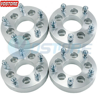 $82.50 • Buy (4) 1.25'' 5 Lug Wheel Spacers Adapters 5x4.5 To 5x5.5 Fits Jeep Liberty Lincoln