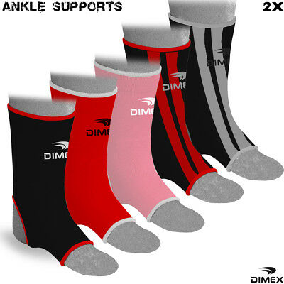 Ankle Support Brace Injury Relief Muay Thai Kick Boxing Protector Sports • 2.69£