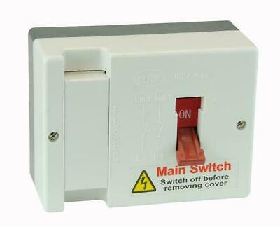 Click Submain Fused Main Switch Isolator  60 / 80 / 100 Amp  Fuse Fitted Db750 • 28.46£