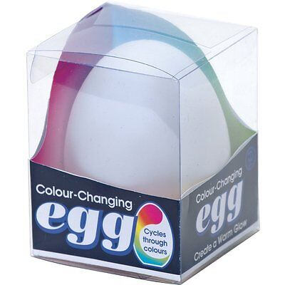 Colour Changing Egg Night Light Electronic Candle Mood Light • 8.49£