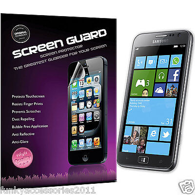 £1.99 • Buy Samsung Ativ S I8750 High Quality Crystal Clear LCD Screen Protector