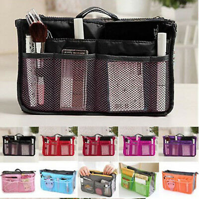 AU6.99 • Buy Bag Insert Organiser Handbag Women Travel Makeup Purse Wallet Pouch Organiser