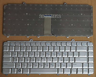 $17.99 • Buy NEW For DELL XPS M1330 M1530 Keyboard Russian Silver