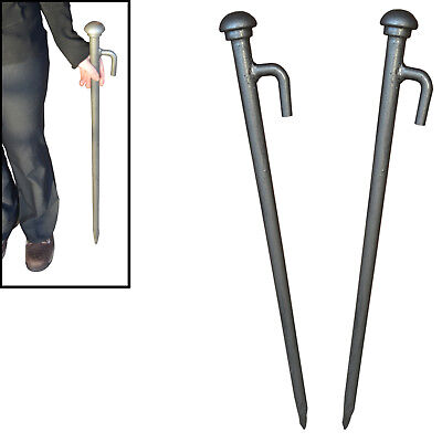 £32.99 • Buy Extra Huge Heavy Duty Tent, Gazebo, Marquee Pegs, Stakes 850mm X 25mm 2/4/8/12