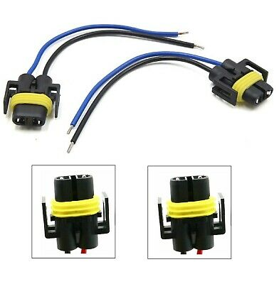 $8 • Buy Wire Pigtail Female P S 880 Fog Light Two Harness Bulb Socket Connector Plug Fit