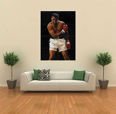 Muhammad Ali Boxing Legend Giant Wall Art Poster Print • 12.99£