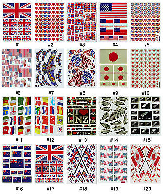£0.99 • Buy #551S Nation National Country Countries World Flag Travel Scrapbooking Stickers