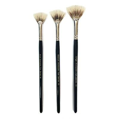 £3.50 • Buy Artmaster Fan Brushes For Watercolour, Acrylic Or Oil - Small, Medium Or Large