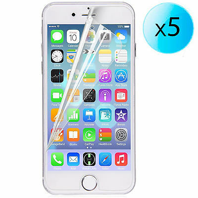 afb51ec966d 5x LAMINA PROTECTOR DE PANTALLA ULTRA-TRANSPARENTE PARA APPLE IPhone 6 Plus  4.7 • 1.75