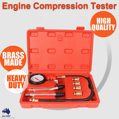 AU23.50 • Buy Petrol Engine Compression Test Tester Kit Set For Automotive Car Tool