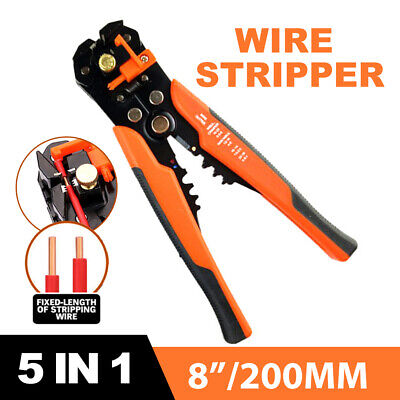 AU15.79 • Buy Automatic Wire Cutter Stripper Pliers Electrical Cable Crimper Terminal Tool