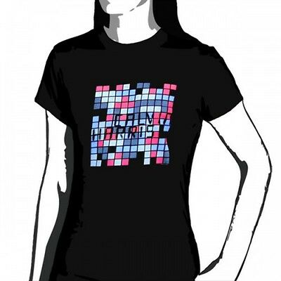 OFFICIAL Calvin Harris - Chequered Women's T-shirt NEW LICENSED Band Merch All S • 19.61£