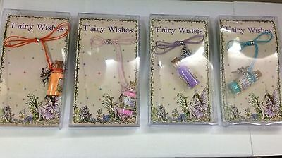 £2.99 • Buy 1x Fairy Wishes Cord Necklace & Bottle Fairy Dust & A Fairy Charm