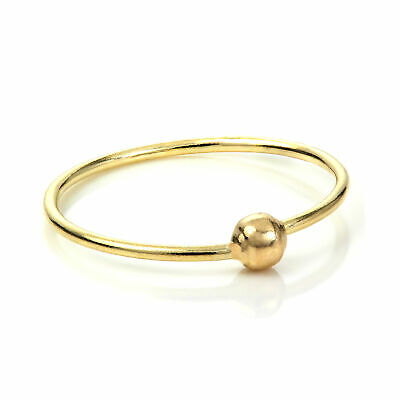 AU30.31 • Buy 9ct Yellow Gold BCR Hoop Nose Ring Piercing - 8mm & 10mm