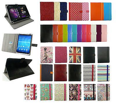 £5.49 • Buy  Universal Wallet Case Cover Fits Hannspree AlpenTab Almrausch 10.1 Inch Tablet