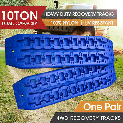 AU59 • Buy 2pc 10T Pair Recovery Tracks Sand Track Sand / Snow / Mud Trax 4WD Blue NEW