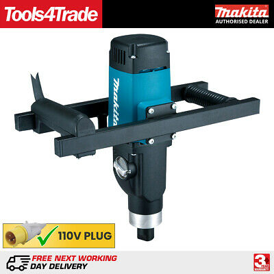 £355 • Buy Makita UT1600 110V Variable Speed Cement/Plaster Paddle Mixer Up To 80Kg 1500W