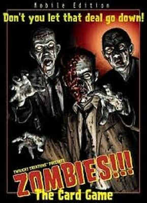 £2.95 • Buy Zombies!!! The Card Game Brand New & Sealed Cheap!!
