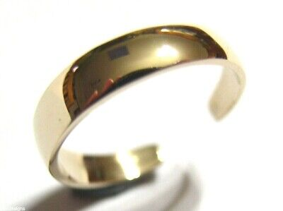 AU124.95 • Buy Kaedesigns New Genuine Solid 9ct 9k Yellow Gold Plain Toe Ring