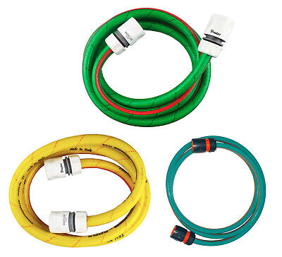 1/2  Hose Connection Set - Connect Your Garden Tap % Hose Reel For Easy Watering • 8.48£