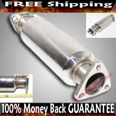 SS Cat/Test Pipe For Honda Civic 88-00 Del Sol 93-97 High FLow Performance • 999.99$