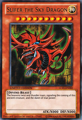 AU7.99 • Buy Yugioh Card - Slifer The Sky Dragon *Ultra Rare* LC01-EN002 (NM/M)