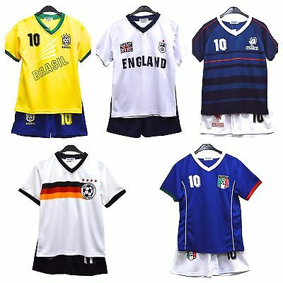£4.99 • Buy UNISEX Football Kit- Various Country Styles - Unbranded