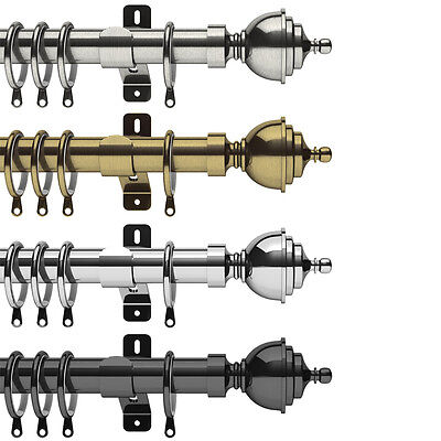 Swish Elements Minster - 28mm Metal Curtain Pole Sets • 9.99£