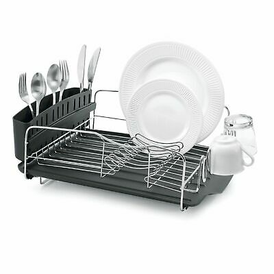 AU79.95 • Buy NEW POLDER ADVANTAGE 4 PIECE DISH RACK Cutlery Utensil Caddy Drainer Drying Tray