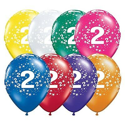 AU6.41 • Buy Party Supplies 2nd Birthday 2 Around Jewel Stars Latex Balloons Pack Of 10
