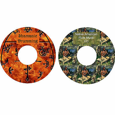 Shamanic Drumming & Native American Flute Music CDs Relaxation Stress Relief  • 3.75£