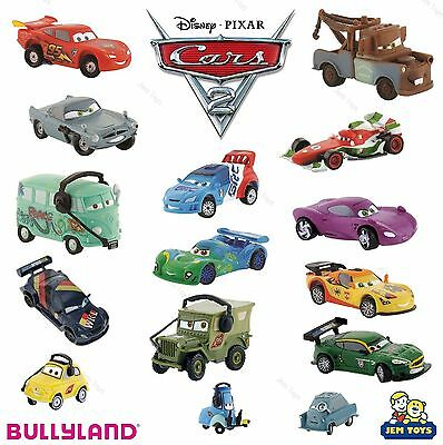 Disney Pixar Cars 2 Figure Figurine Toy Cake Topper Bullyland Lightning McQueen • 7.48£