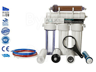 NEW 5 Stage RO & DI Resin Reverse Osmosis Water Filter System 50/75/100/150GPD • 59.50£