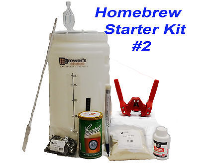 Home Brewing Starter Kit No.2 Make Beer/Cider/Ginger At Home With Emily Capper • 54.42£