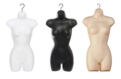 Quality Guaranteed Female Hanging Full Body Mannequin  Form Torso Display  • 18.99£