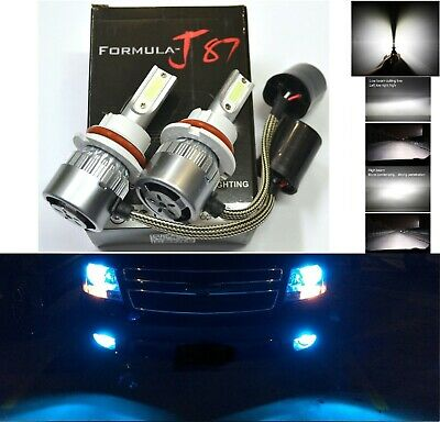 $14.40 • Buy LED C 72W 9007 HB5 Blue 10000K Two Bulbs Head Light Replace DRL Lamp Off Road