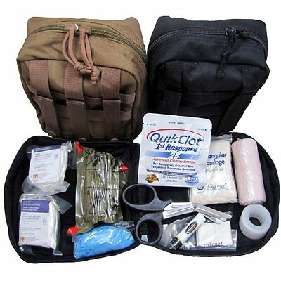 $57.95 • Buy Elite First Aid Military IFAK  Individual First Aid Kit  W/ Quikclot