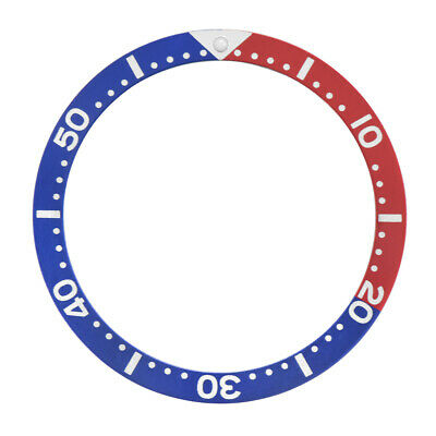 $ CDN14.94 • Buy Bezel Insert For Seiko Skx007/009/011-6306-7000 /6306-7001 Watch /red/blue Pepsi