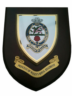 Princess Of Wales Royal Regiment Wall Plaque UK Hand Made For MOD • 19.99£