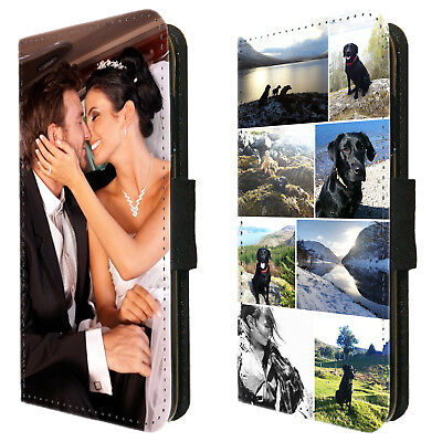 AU18 • Buy Personalised Flip Wallet Phone Case Cover Custom Printed Photo Picture Collage