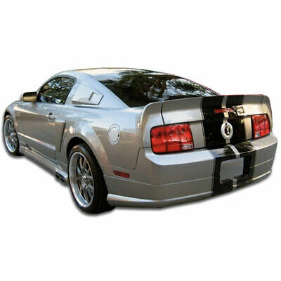 $268 • Buy CVX Rear Lip Under Spoiler Air Dam 1 Piece Fits Ford Mustang 05-09 Duraflex