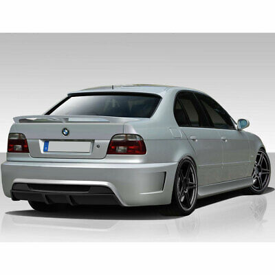 $170 • Buy Series E39 4DR GT-S Wing Trunk Lid Spoiler 1 Piece Fits BMW 5 97-03 Durafle